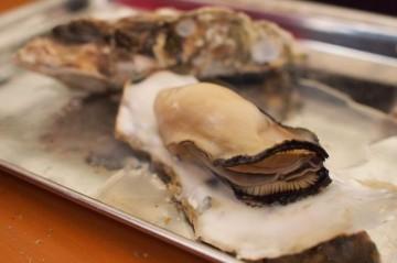 牡蠣 炭焼き
