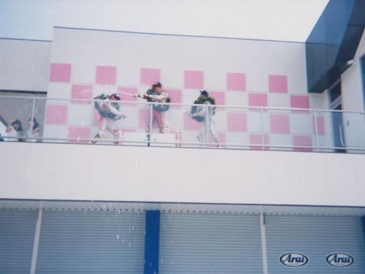 美祢サーキット 表彰台