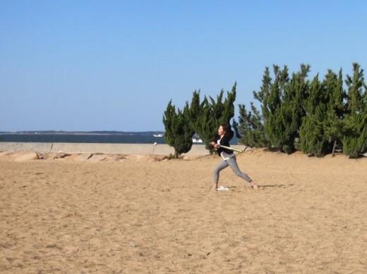 ビーチベースボール